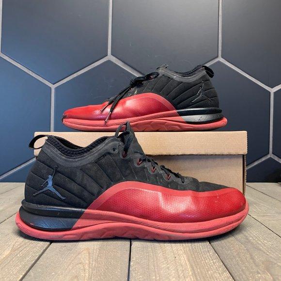 Used Air Jordan Trainer Prime Flu Game Black Red
